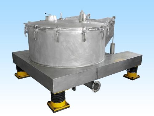 自贡PSLQ型平板式直连上卸料全翻盖离心机